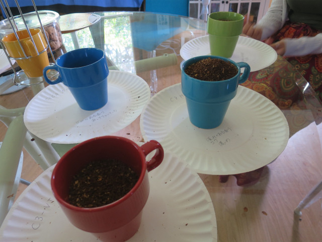 グラインド後のコーヒー豆
