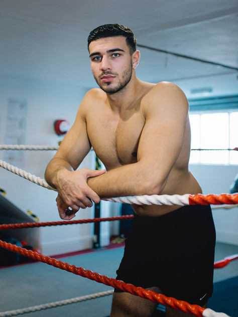 Tommy Fury X Men's Health