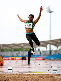Abigail Irozoru X British Athlete