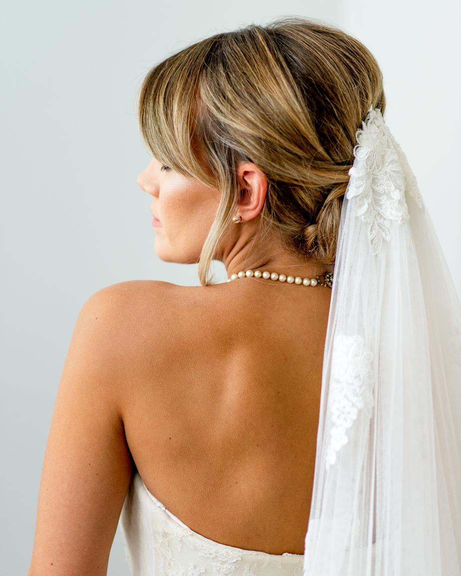 Rachel. Model bride.