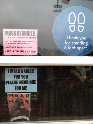 mask sign - en route to anchor bay.jpg