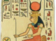 Hathor, goddess, women as spiritual authorities