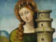 Mary Magdalene, herstory, Louise Sommer, Hidden Camino, tower,