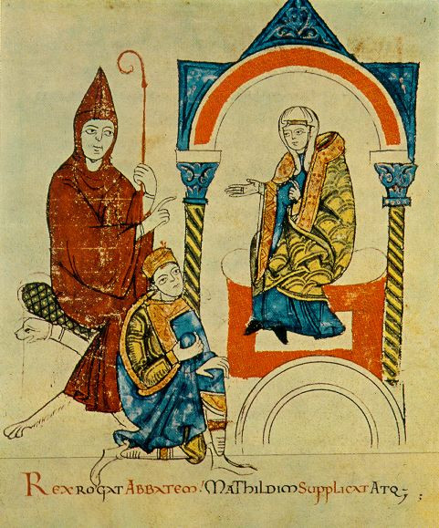 Countess Mathilda of Tuscany, Italy (1046-1115). Ownership unknown.