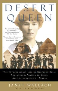 book cover gertrude bell desert queen pyramids