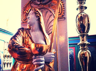 Golden Madonna, Grail Queen, spring goddess, Mother god