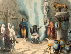 Herstory: The Oracle of Delphi