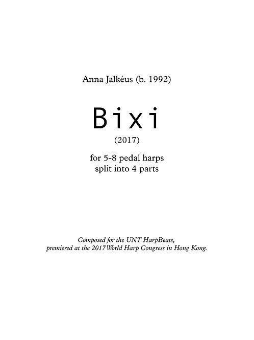 Bixi (4 parts, 5-8 harps)