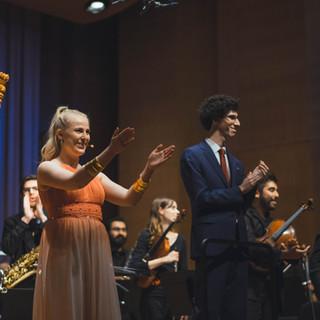 Anna Jalkéus and Kyle Gordon