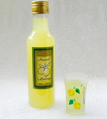 Limoncello Artesanal - Garrafa Picolla (250 ml)