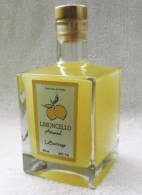 Limoncello Artesanal - Garrafa Mozzo (500 ml)