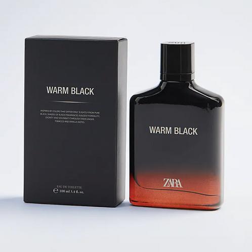 Perfume Zara - WARM BLACK 100ML - 20€