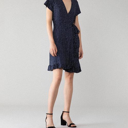 Vestido estampado cruzado - LEFTIES - 12€