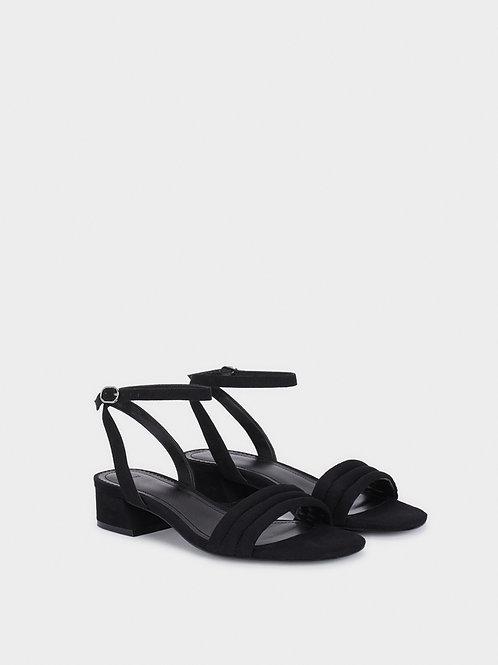 Sandálias de tacão baixo tiras  - PARFOIS - 24€