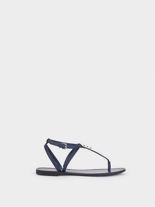 Sandálias rasas pormenor tachas - PARFOIS - 16€