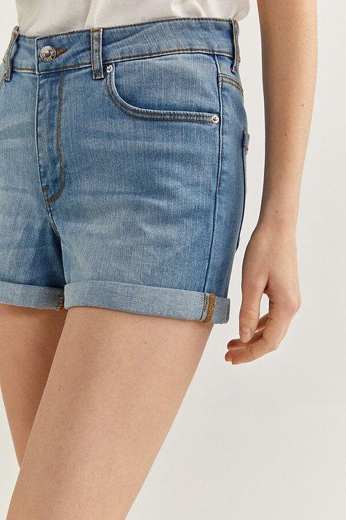 Calções jeans confortáveis - SPRINGFIELD - 15€