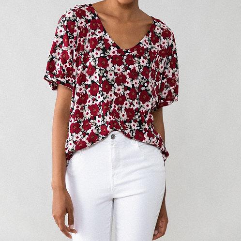 T-shirt com tecido texturizado - LEFTIES - 6€