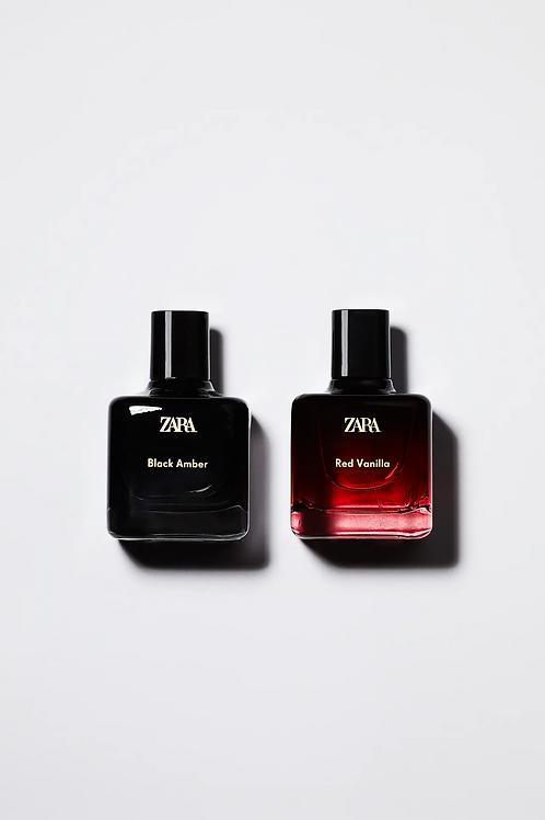 Perfume Zara - RED VANILLA 100ML + BLACK AMBER 100ML - 30€