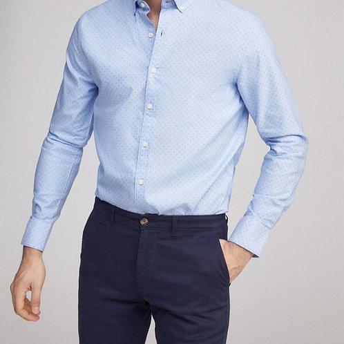 Camisa oxford estampada - MILANO - 22€