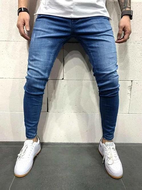 Simples  Rasgada Jeans Masculino - 37€