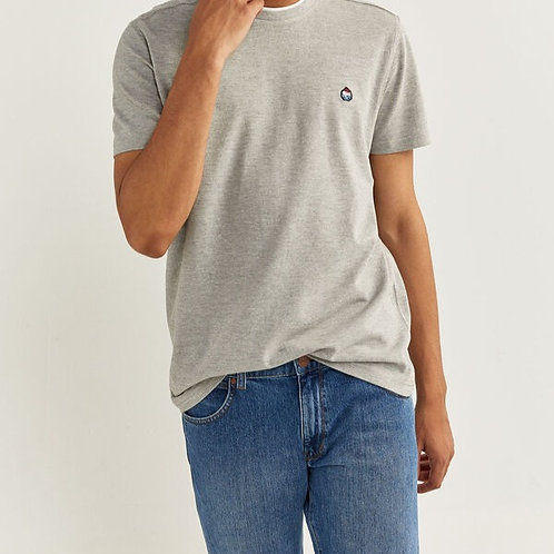 T-shirt regular manga curta piqué - SPRINGFIELD - 15€
