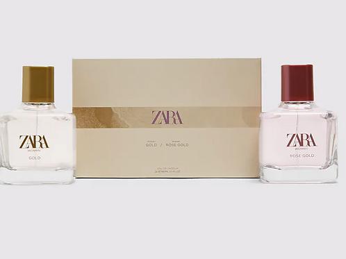 Perfume Zara - WOMAN GOLD + WOMAN ROSE GOLD 80ML - 28€