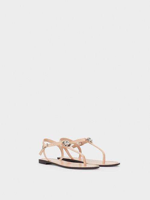 Sandálias rasas pormenor brilhantes - PARFOIS - 20€