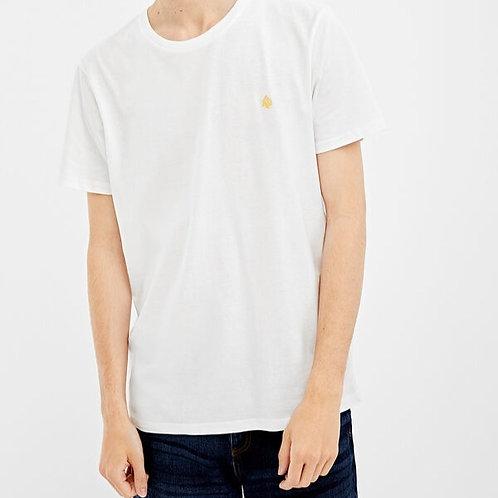 T-shirt curta com logo - Springfield - 13€