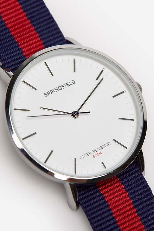 Relógio tape reversível - SPRINGFIELD - 25€
