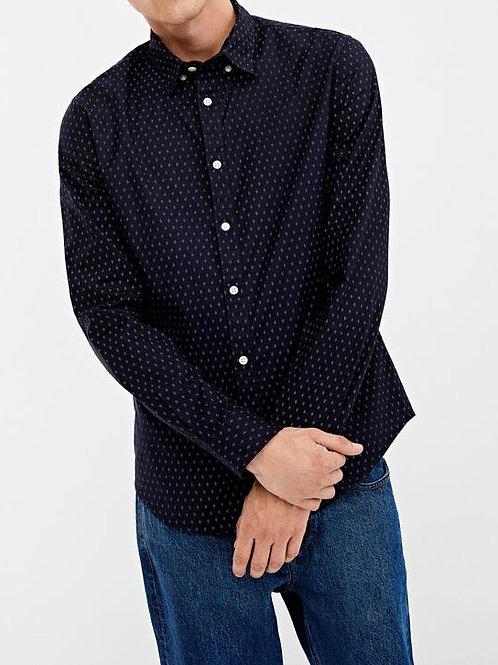 Camisa estampado oxford stretch - SPRINGFIELD - 15€