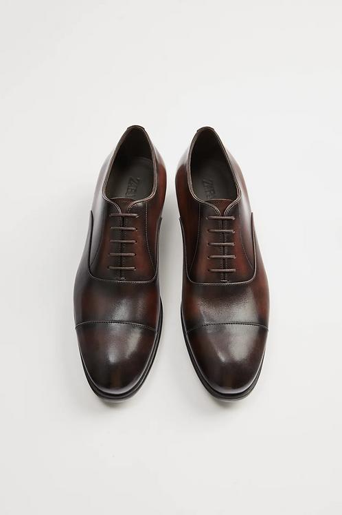 Sapato elegante de pele  - ZARA - 60€