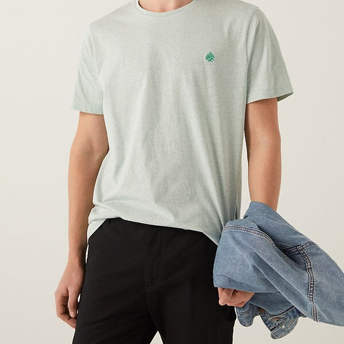 T-shirt micro-listrada - SPRINGFIELD - 15€