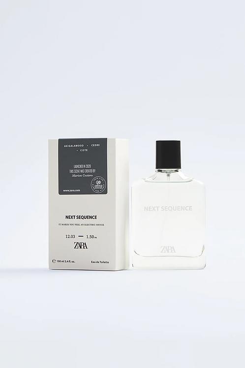 Perfume ZARA -  NEXT SEQUENCE 100 ML - 15€