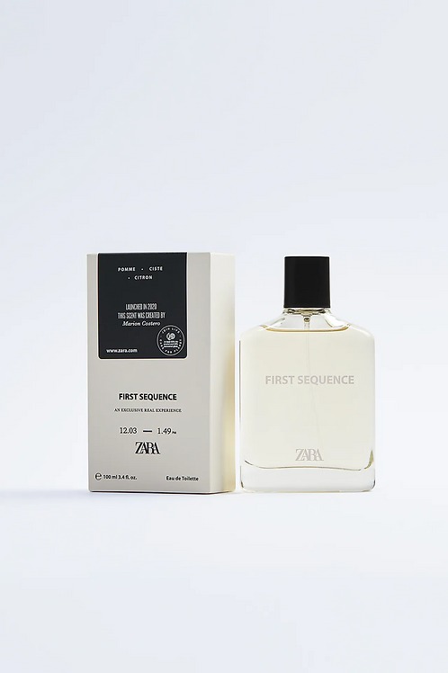 Perfume ZARA -  FIRST SEQUENCE 100 ML - 15€