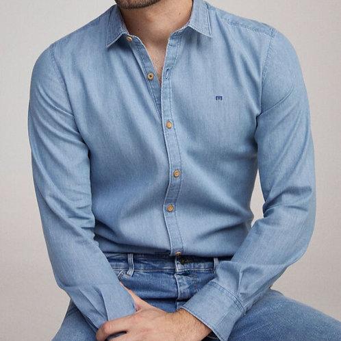 Camisa jeans lisa - MILANO - 25€