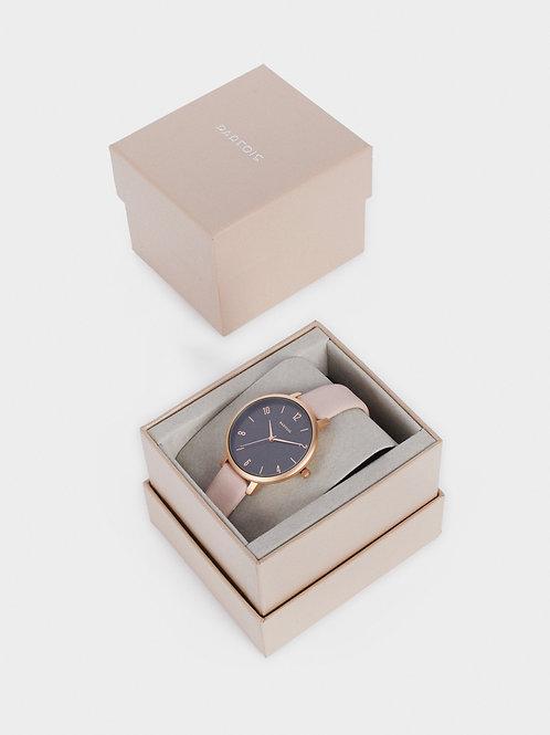 Relógio bracelete textura pele - PARFOIS - 25€