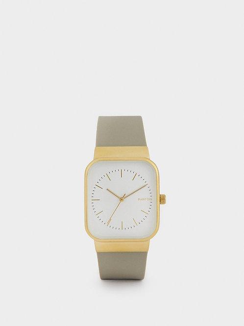 Relógio correia de silicone esfera quadrada - PARFOIS - 40€