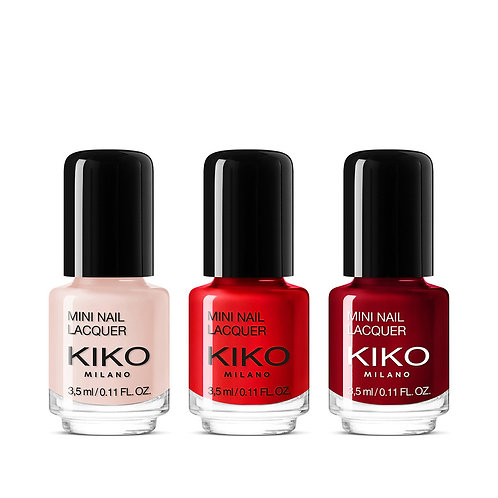 Mini nail lacquers - KIKO - 10€