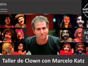 Vuelve Marcelo Katz con su Intensivo de Clown