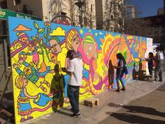 AMERICA SOLIDARIA - Mural Colaborativo
