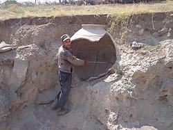 Находки Халхала глиняный кувшин
