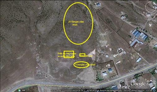 снимок со спутника Халхал