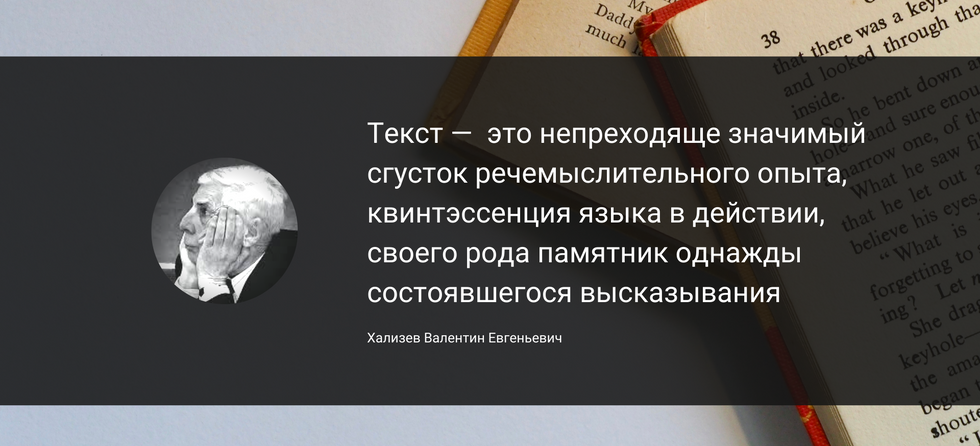 Хализев В.Е.: