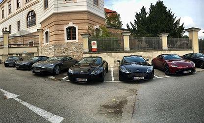 Aston Martin Herbstausfahrt