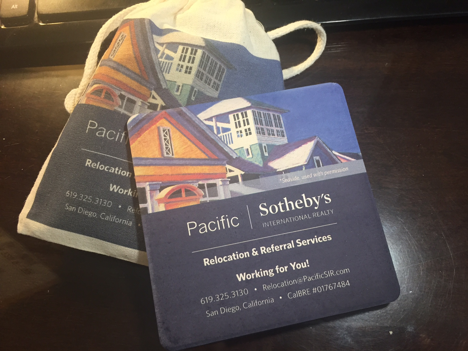 Sothebys Coaster Bag Set