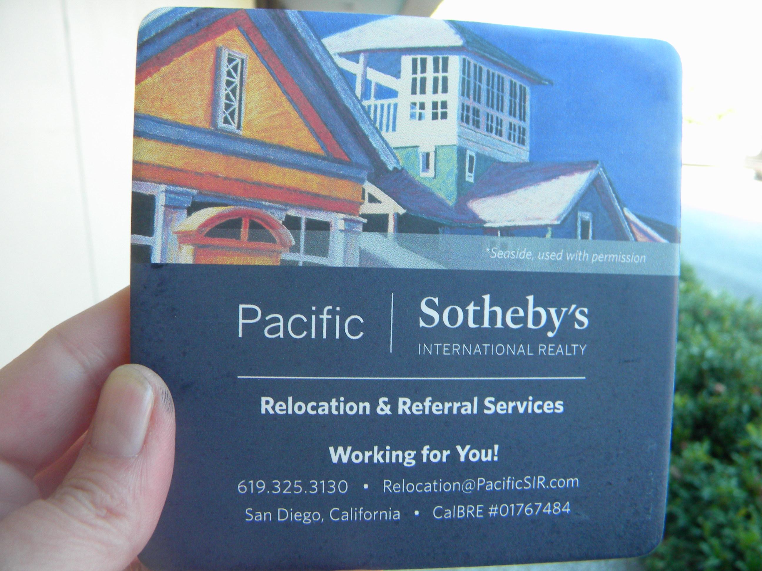 Sothebys Coaster Gift