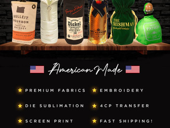 Custom Designed Liquor Bags Made In the USA
