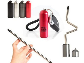 Eco-Friendly 18/8 Stainless Straws- Food Safe, Custom Branded, Import Bulk Pricing