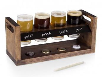 Craft Beer Tasting Set-Love the Cap Holders!