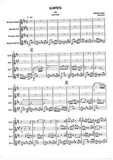 Quarteto de Saxofones - Fernando Moarais